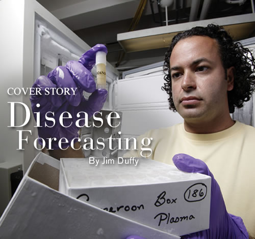 Cover Story: Disease Forecasting, Image of Nathan Wolfe