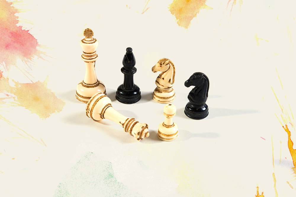 Kriegspiel Chess Pieces (c. 1960)