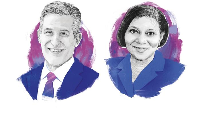 Richard Besser and Lisa Cooper