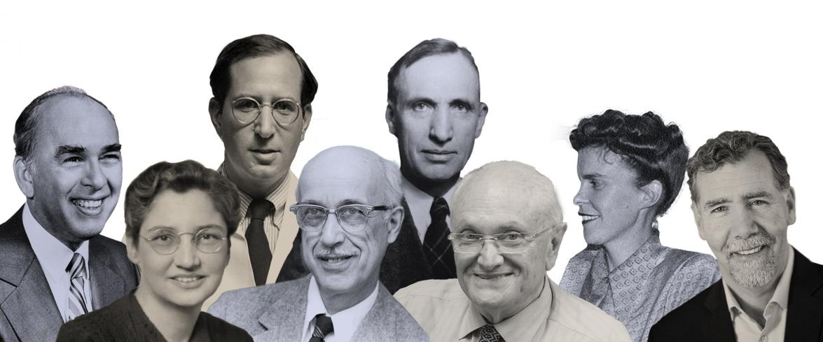 Image of some of the school's notable epidemiologists