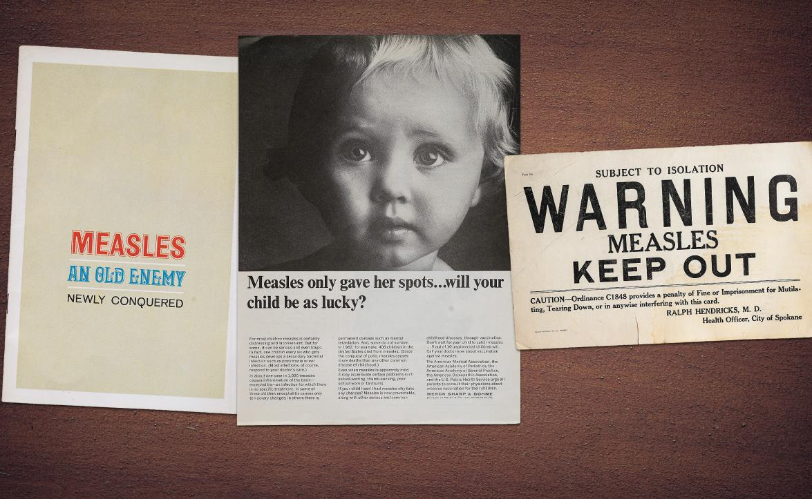 Measles vaccination brochure